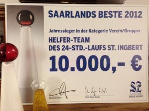 Saarlands Beste 2012 Jahressieger